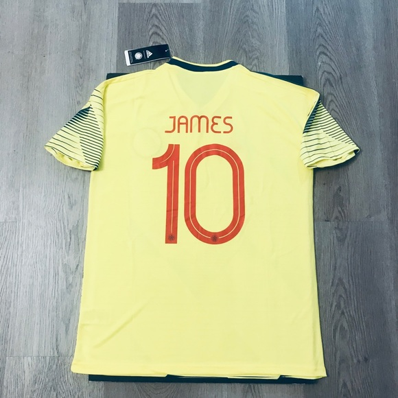 info for 99397 3f7ad James Rodriguez #10 soccer jersey Colombia home